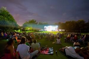 Outdoor Cinema in London Under the Stars