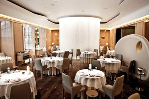 Alain Duccase at the Dorchester in London