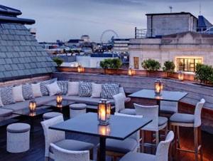 Aqua Spirit Rooftop Bar in London