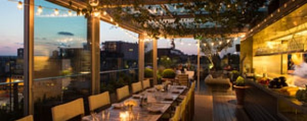 Boundary Rooftop Bar in London
