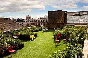 Dalston Roof Park in London