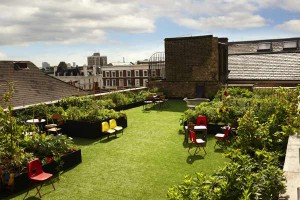 Dalston Roof Park Rooftop Bar in London
