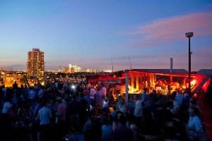 Frank's Cafe Rooftop Bar London