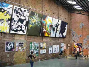 Village Underground Club in Shoreditch London