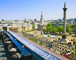 Vista Rooftop Bar in London