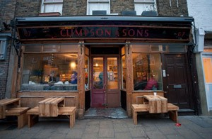 Climpson And Sons Cafe at Hackney, London