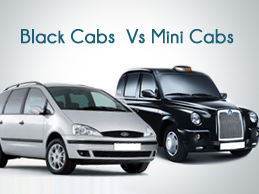 Minicabs Vs Black Cabs in London