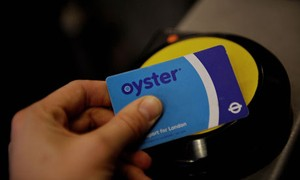 Oyster Card London Public Transport