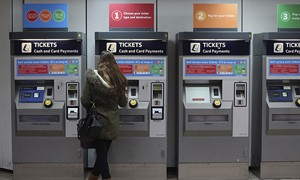 London Underground Ticket Machines