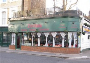 Zorbas Greek Taverna - London's Worst Restaurants