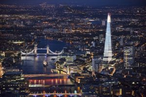 A view from Oblix The Shard London