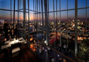 Aqua Shard View over London