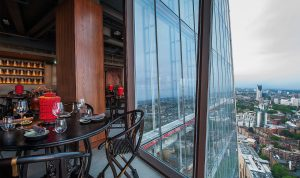 Hutong Overlooking London The Shard London