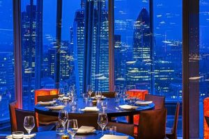 Oblix The Shard London Sky Bars and Restaurant