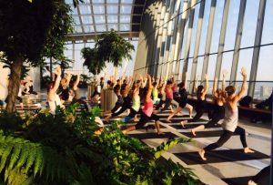 Sky Garden Yoga London