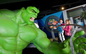 Marvel's Superheroes at Madame Tussauds