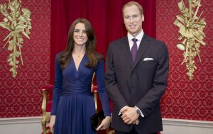 Royal Sculptures at Madame Tussauds London