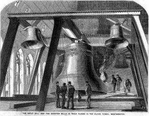 The Huge Bell Inside Big Ben London