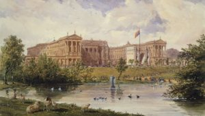 Buckingham Palace in the Past London