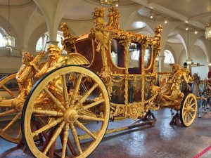 Royal Mews at the Buckingham Palace London