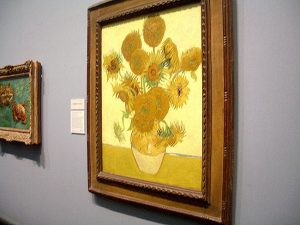 Van Gogh's Sunflowers National Gallery London